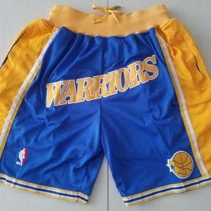 New NBA Golden Sate Warriors Basketball Shorts